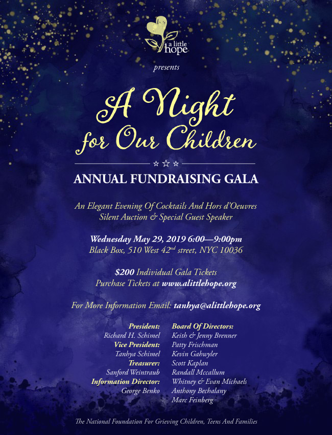 Gala 2019 Save the Date